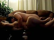 Heat of the moment sex fuck on sofa amateur porn