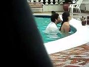Pool fuck public swimming pool public lovers
