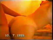 Spanish couple fucking hot girlfriend cum sexy positions
