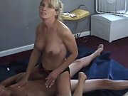 Cuckold wife big tits blonde