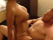 Hotel room cock pussy drinks wife couple time