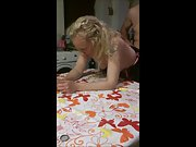 Libby kitchen table fuck fucked blonde milf wife