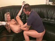 High heels blonde hardcore fisting blowjob fetish