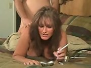 Big tits milf hardcore doggystyle cigarette smoking
