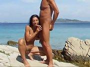 Nudist oral mediterranean fuck