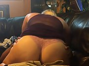 Couch blonde wife fucking black cock home couch interracial