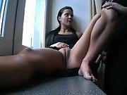 Brunette masturbation hardcore cumshot big cock