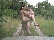 Public sex nude brunette hardcore
