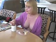 Milf mom mature cum blonde
