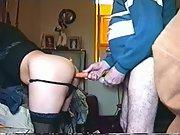 Ass hot pam big dildo